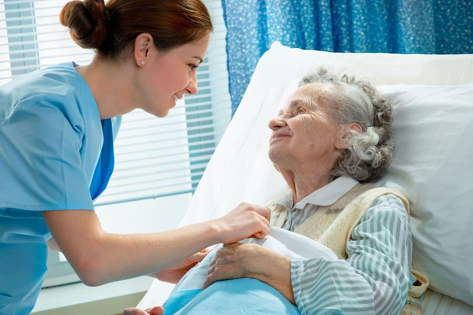 photos infirmière patient